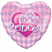 "Princess Tiara Foil Balloon (18"") 1pc"